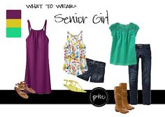 3 cute outfits for senior girls