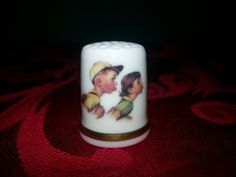 Norman Rockwell Thimble Day in the Life of a Boy 1980 Limited Edition Gift