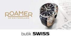 Kolekcja szwajcarskich zegarków ROAMER to ucieleśnienie czystego i klasycznego designu. Szlachetne materiały najwyższej jakości sprawiają, że ROAMER jest niezawodny przez długie lata! Bogata kolekcja dostępna w butiku SWISS! Zapraszamy!!
