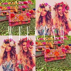 ENJOY THE WEEKEND  #baiga #bags #weekenf #enjoy #flower #power #flowerpower #color #flor #clutch #chic #style #moda #impact #friends #beuty #perfect #moment  BELLA CLUTCH