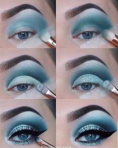 23 Natural Smokey Eye Makeup Make You Brilliant eye makeup tutorial; eye makeup for brown eyes; 23 Natural Smokey Eye Makeup Make You Brilliant eye makeup tutorial; eye makeup for brown eyes; Makeup Eye Looks, Eye Makeup Steps, Blue Eye Makeup, Smokey Eye Makeup, Eyeshadow Makeup, Makeup Brushes, Face Makeup, Makeup Remover, Glitter Eyeshadow