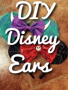 DIY Disney Ears!