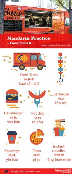 When you find a food truck on the street. For more info please contact: bodi.li@mandarinhouse.cn The best Mandarin School in China