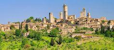 San Gimignano, Tuscany by travel2italy.com