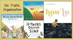 Six Traits Sunday: Ideas for teaching organization with picture books