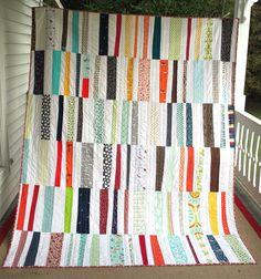 Hop Skip Jump quilt. Pattern by Denyse Schmidt.