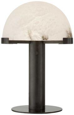 KELLY WEARSTLER | MELANGE DESK LAMP. Bronze