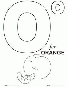 Printables Alphabet O Coloring Sheets | Download Free Printables