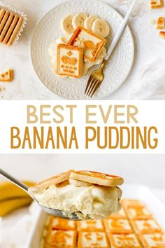 Seriously, guys, this is the BEST Banana Pudding EVER! It is a must make Southern style recipe, you definitely need in your life! If you want an easy homemade banana pudding recipe and love creamy, rich, light and fluffy banana pudding, this is for you. Not only is it very easy to make and assemble, it's a huge hit with everyone that tries it! Made extra delicious from scratch with cream cheese, cool whip, and made with condensed milk. Definitely not yo mamas banana pudding... way better!