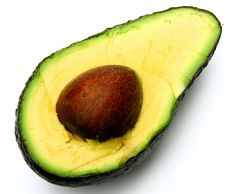 vegan facial masks - avocado, olive oil, and lemon juice