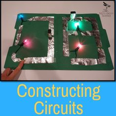 There is no better way to learn how electricity flows through a circuit than to create one on your own. Student's will learn first hand how circuits function when they complete the lab in my Electricity and Magnetism Demo, Lab and Science Station. Physics Projects, Physics Experiments, Science Fair Projects, Science Lessons, 8th Grade Science, High School Science, Science For Kids, Science Classroom, Teaching Science