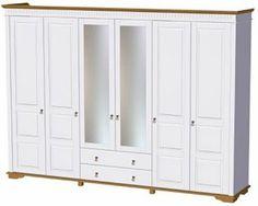 Kleiderschrank, 4- bis 6-türig, Premium collection by Home affaire, »Toskana«