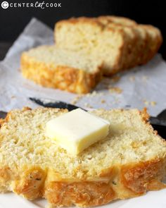 Garlic Cheese Bread- quick to make, so delicious, and full of flavor! The perfect side for dinner!