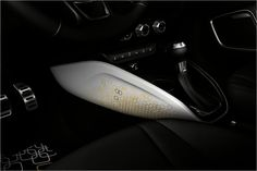 Gold Detail in Audi A1 with A1 Lifestyle kit Gold...
