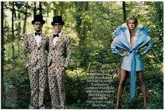 Alice in wonderland Fashion Spread.