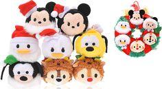 Japan Christmas 2015 Tsum Tsum Set