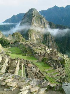Macchu Picchu, Peru shared by Lorena Velasquez