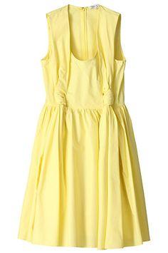 カルヴェン  ノースリーブバルーンドレス  税込価格 ¥54,600