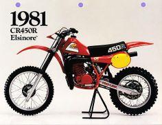 1981 - Honda CR450R Elsinore https://plus.google.com/+JohnPruittMotorCompanyMurrayville/posts