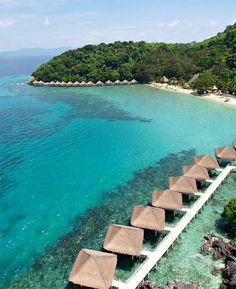 Palawan El Nido Resorts Apulit Island - Taytay in Philippines, Asia Philippines Palawan, Voyage Philippines, Les Philippines, Philippines Beaches, Philippines Travel, Philippines Culture, Thailand Travel, El Nido Palawan, Birdwatching
