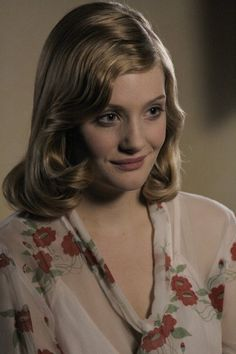 Romola Garai in Glorious 39. I adore everything she wears in this movie.