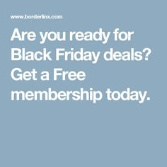 Are you ready for Black Friday deals? Borderlinx can help you out with convenient, reliable international shipping. Get a free membership today.