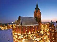 Weihnachtsmarkt in der Altstadt (Christmas market at the Old Town, Hannover)