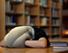 almohada para dormir la siesta en la oficina o en la biblioteca...