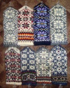 Mittens Pattern, Knit Mittens, Knitting Socks, Hand Knitting, Wool Gloves, Knitted Gloves, Christmas Knitting, Hand Warmers, Etsy Seller