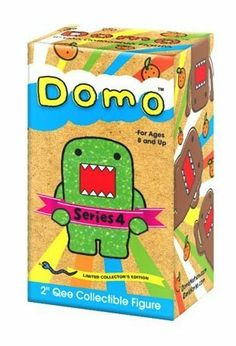 """Domo 2"""" Qee Mystery Figure Series 4 Single Blind Box by Dark Horse Comics. $9.88. Brand new in manufacturer packaging"""