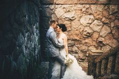 Classical wedding portrait. Bride + groom = Awesomeness. Photography by Jere Satamo.
