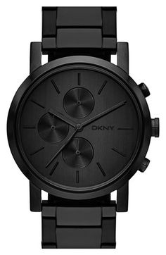 DKNY 'Lexington' Chronograph Bracelet Watch, 42mm available at #Nordstrom