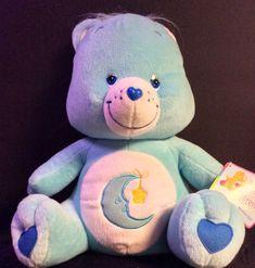 "Care Bear Share Bear w//Retired Tummy Logo 14/"" Plush Tags 2019 Brand New !"