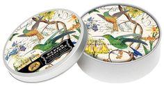 Michel Design Works Hummingbird Coasters in Tin, Multicolor Bird Nature 12 Count #MichelDesignWorks