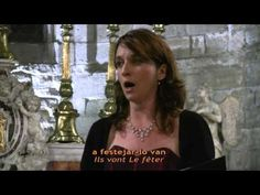 ▶ Cant dels Ocells - Ulrike Van Cotthem, soprano lyrique - Tutti Bassi - YouTube  ooooh, wat mooi.....