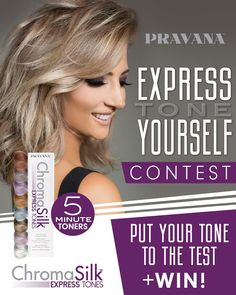 """LAST CHANCE – Express Tone Yourself! Post your best transformation using ChromaSilk Express Tones for a chance to win! Pravana Hair Color, Last Chance, Curls, Hair Beauty, Pure Products, Canvas, Instagram, Life, Tela"