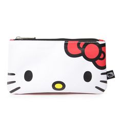 Store make-up or pens and pencils in this adorable Hello Kitty Pouch.