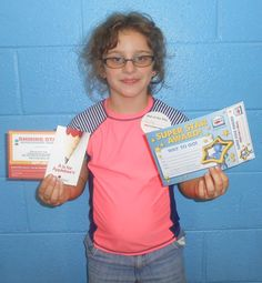 Our Kid of the Day is Lilly! We enjoy having your smiling face at the Club!