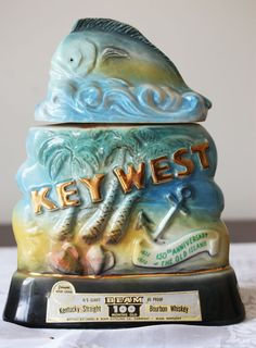 Jim Beam Key West Decanter Vintage 150th by PearTreeVintage, $22.00  cool