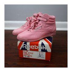 Tennis Reebok. Jen wore exact shoes in her Madonna phase. #nostalgia #retro memories