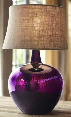 glass eggplant table lamp http://rstyle.me/n/izjymr9te