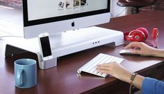 UNITI Stand: For iMacs  Apple Displays. Organize Your Workspace.