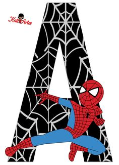 Resultado de imagem para free printable cupcake wrappers and toppers with spiderman Spider Man Party, Superhero Birthday Party, Boy Birthday, Spiderman Theme, Spiderman Font, Spiderman Stickers, Avengers, Superhero Letters, Banner Letters