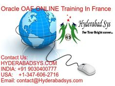Oracle OAF Online Training In France #oracleoafonlinetraining #oracleoaftraining