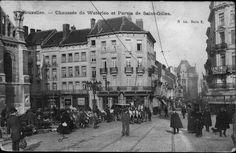 Chaussée de Waterloo et Parvis de Saint-Gilles