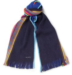 Paul Smith Shoes & Accessories - Striped Wool Scarf | MR PORTER