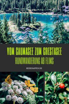 Wanderung vom Caumasee zum Crestasee – Rundtour ab Flims Seen, Wonderful Places, Travel Photos, Wanderlust, Outdoor, World, Amazing, Roadtrip, Image