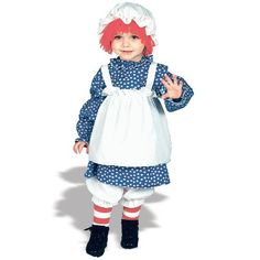 Raggedy Ann & Raggedy Andy Halloween Costumes are fun for everyone. We have awesome Raggedy Ann & Raggedy Andy Halloween costumes for kids, men and women. Raggedy Ann Halloween Costume, Halloween Costumes For Girls, Baby Costumes, Halloween Ideas, Girl Halloween, Halloween Stuff, Halloween Night, Halloween Party, Pirate Costumes