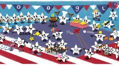 july 4 google doodle 2016 hero image