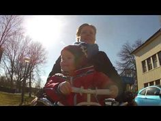 Babies on bikes: This Dutch music video rocks   Anthony's Putsch - King of the world (official video)